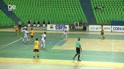 AABB vence o Balsas por 2 a 0 e ganha fôlego na Copa Nordeste de Futsal