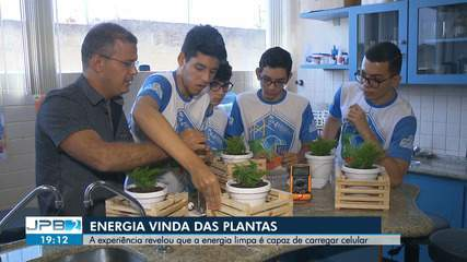 Projeto de escola de CG usa plantas como fonte de energia