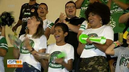 Jogos do Carrancas estão atraindo muitos torcedores para o estádio Paulo Coelho
