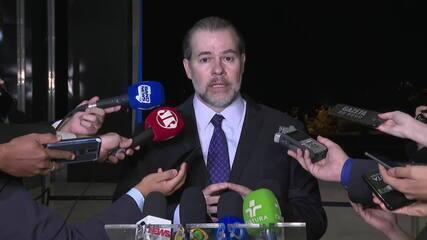 Dias Toffoli após voto decisivo: 'Parlamento pode alterar esse dispositivo, tem autonomia'