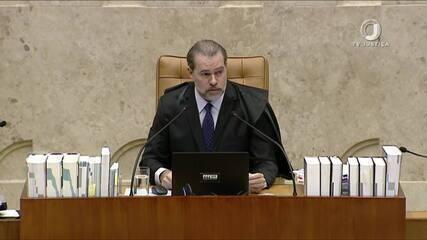 Toffoli vota e desempata na derrubada de prisão após condenação na 2ª instância