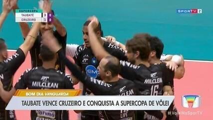Taubaté bate Cruzeiro e fatura Supercopa de vôlei