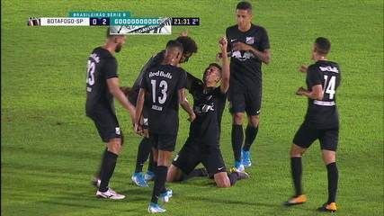 Veja o gol de Ryller contra o Botafogo-SP na última rodada
