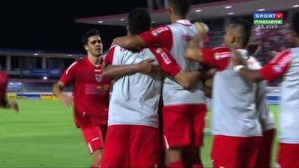 Confira os gols de CRB 2 x 1 Atlético-GO, pela 34ª rodada da Série B