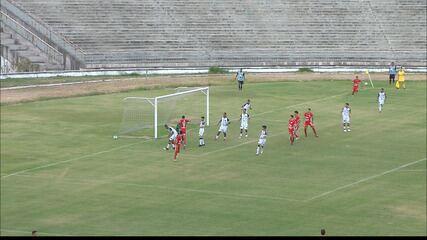 Veja como foi a vitória do Botafogo-PB sobre o América-RN na Copa do Nordeste Sub-20