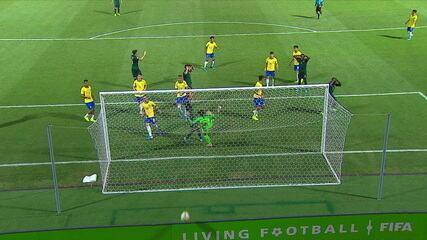 Melhores momentos de Brasil 2x0 Itália pelas quartas de final do Mundial Sub-17