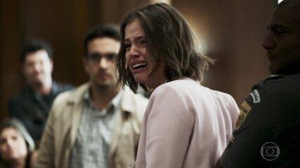 Josiane é considerada culpada por seus crimes