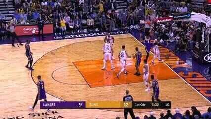 Melhores momentos: Phoenix Suns 115 x 123 Los Angeles Lakers, pela NBA