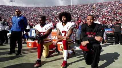Bancada do redação debate a situação de Colin Kaepernick na NFL