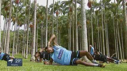Time de basquete de Rio Claro faz treino diferente para o NBB