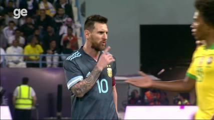 Messi manda Tite calar a boca, em amistoso na Arábia Saudita