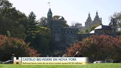 Conheça Beldevere, o castelo do parque mais famoso do mundo, o Central Park