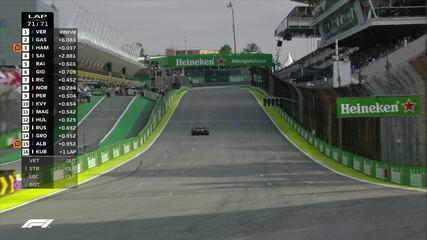 Max Vestappen vence GP do Brasil e Pierre Gasly segura Hamilton e chega em segundo lugar