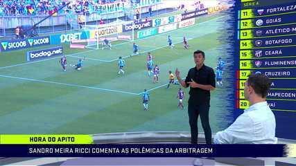 Sandro Meira Ricci esclarece dúvida do lance do pênalti que originou o gol da vitória do Flamengo