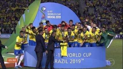 Confira os gols da partida entre Brasil e México pela Copa do Mundo Sub-17