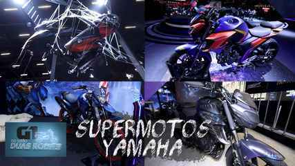 Salão Duas Rodas 2019: Yamaha aposta em motos de heróis