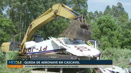 Morre quarta vítima do acidente aéreo, em Cascavel