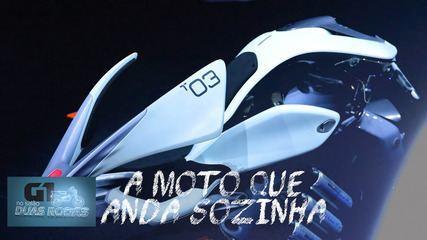 Salão Duas Rodas 2019: a moto que anda sozinha