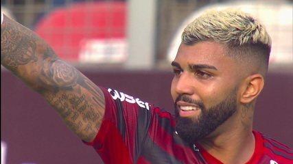 Gol do Flamengo! Gabigol empata a partida, aos 43' do 2º tempo