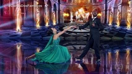Jonathan Azevedo dança foxtrote no 'Dança dos Famosos'
