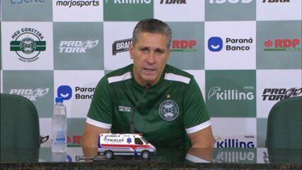 """Jorginho elogia Wanderley no Coritiba: """"Importante para qualquer equipe"""""""