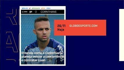 Mesa debate interesse do Corinthians no Luan, do Grêmio