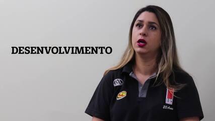 Priscila, falou um pouco sobre a essência do basquete e da educação esportiva na vida das