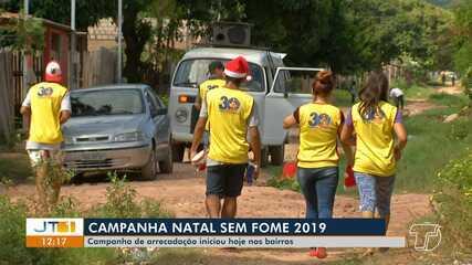 Segunda etapa da campanha 'Natal Sem Fome' inicia em Santarém com arrecadação nos bairros