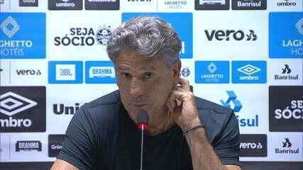 Confira a coletiva do técnico Renato Gaúcho após Athletico-PR 2x1 Grêmio