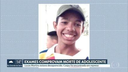 Corpo encontrado em represa em Santo André é do menino desaparecido Lucas Martins