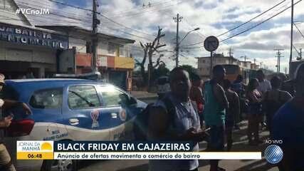 Black Friday: PM é acionada para conter confusão na porta de loja em Cajazeiras