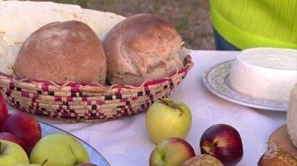 Pão, queijo, vinho tinto, óleo de oliva e grãos formam dieta da Sardenha
