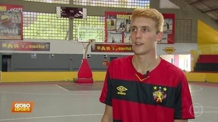 Neto de Ariano Suassuna se destaca no basquete do Sport