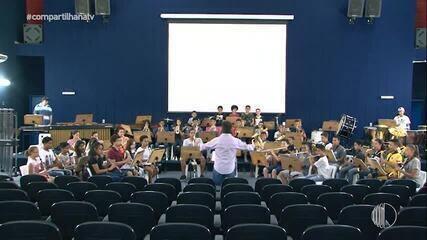 Conheça o Projeto Pequenos Músicos realizado na Escola Municipal Mário Portes