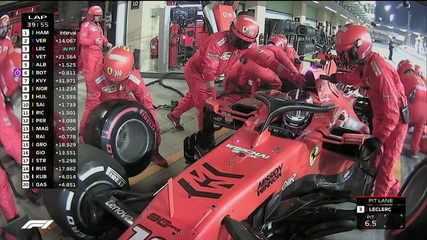 Ferrari faz novamente o pit stop duplo