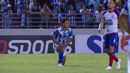 Melhores momentos de CSA 1 x 2 Bahia pela 36ª rodada do Brasileirão 2019
