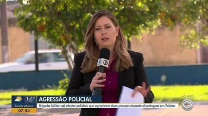 Policiais são investigados por agressão a dois jovens durante abordagem em Pelotas