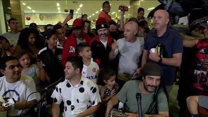 Cafezinho com Escobar anima a galera de Campo Grande