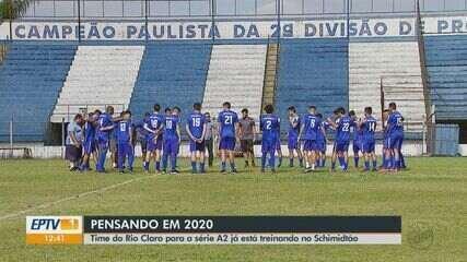 Time de Rio Claro se prepara para série A2
