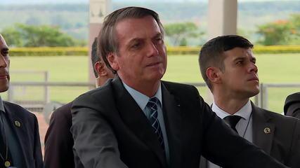 'Acredito que chegaremos a um bom termo', diz Bolsonaro sobre impasse com EUA
