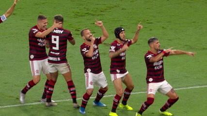 Melhores momentos de Flamengo 6 x 1 Avaí pela 37ª rodada do Campeonato Brasileiro