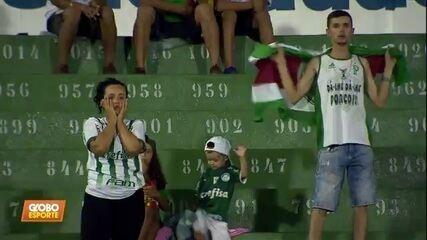 Lembre como foi: Gabriel Veron brilha, e Palmeiras goleia o Goiás