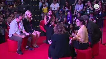'Gshow na CCXP': Confira o painel sobre ' Filhas de Eva' na Arena Globoplay