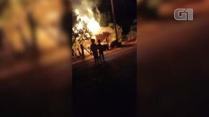 Homem é preso suspeito de incendiar casa de idosa em Palmeirais