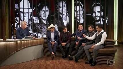 Zezé di Camargo & Luciano, Chitãozinho & Xororó e Leonardo relembram a origem dos 'Amigos'