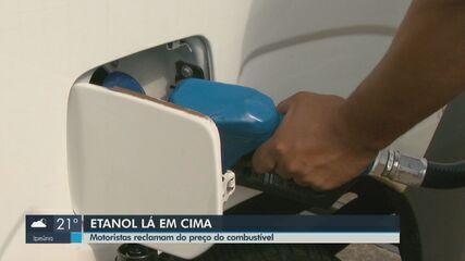 Etanol ultrapassa os R$ 3 em Araraquara e motoristas reclamam
