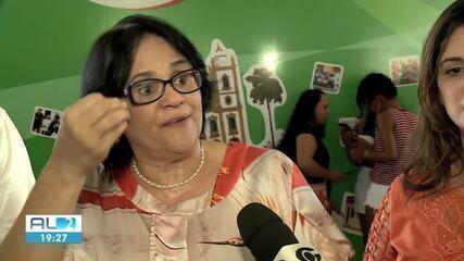 Ministra Damares participa de atividade de projeto para mulheres em Alagoas
