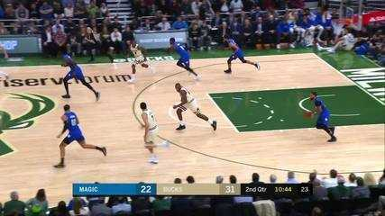 Melhores momentos: Milwaukee Bucks 110 x 101 Orlando Magic pela NBA