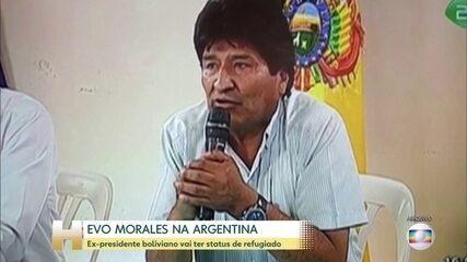 Evo Morales vai morar na Argentina na condição de refugiado