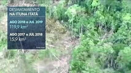 No Pará, grileiros declaram ao governo como sendo deles terras indígenas